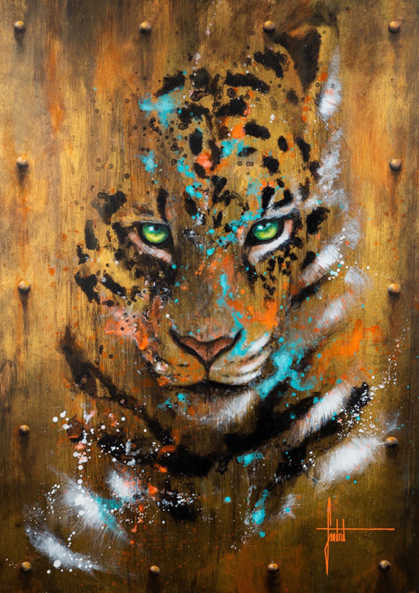 Art et protection animale - acheter une oeuvre de Sandrot