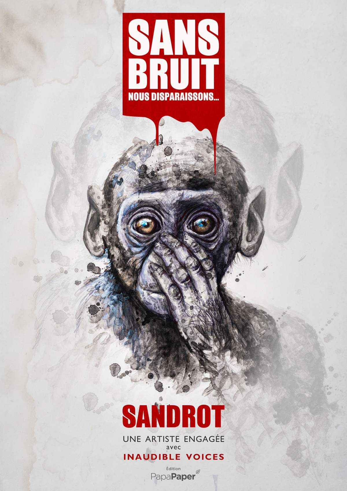 Livre Sandrot Sans bruit Inaudible Voices Free Spirit
