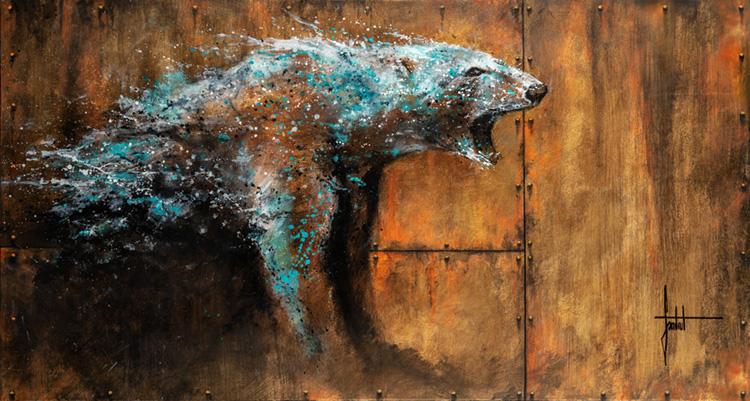 ours page d accueil sandrot Art et protection animale - acheter une oeuvre de Sandrot