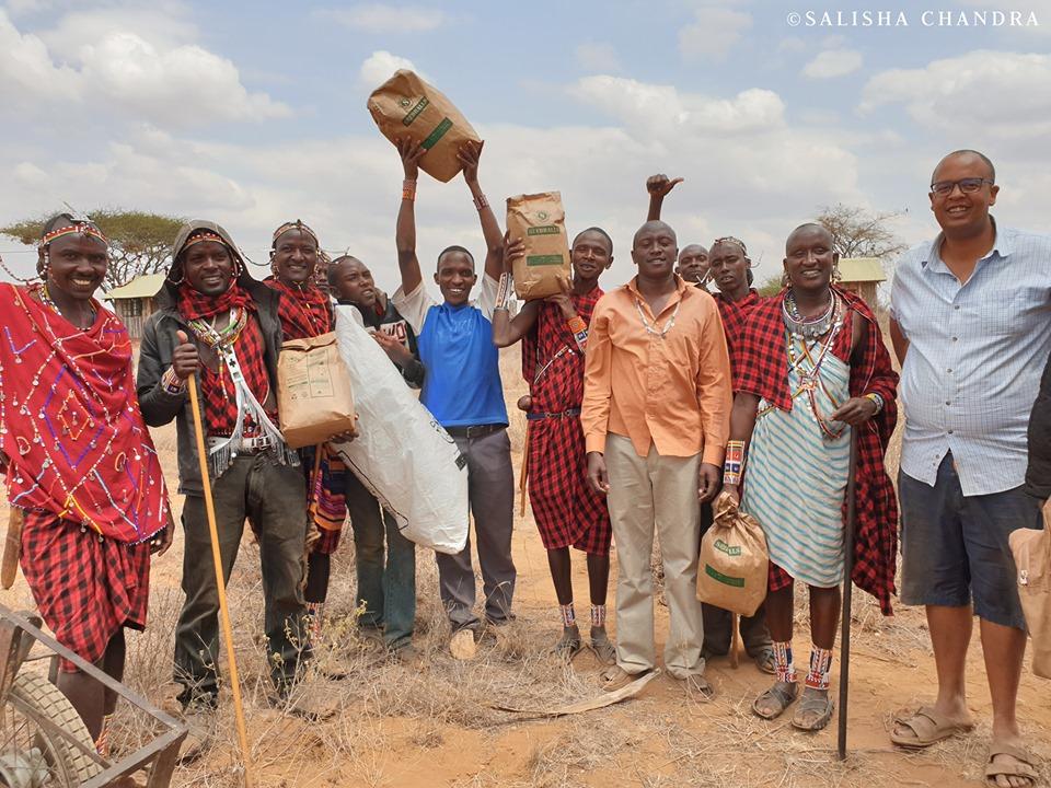 Seedballs graines d'arbres au Kenya