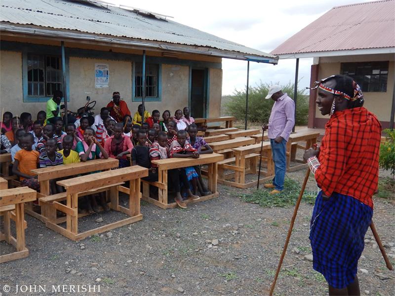 Sensibilisation des enfants sur la protection animale au Kenya